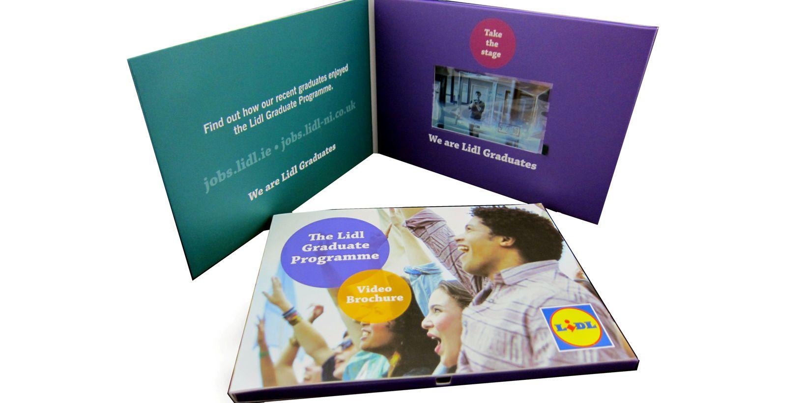 "5"" LCD video brochure"