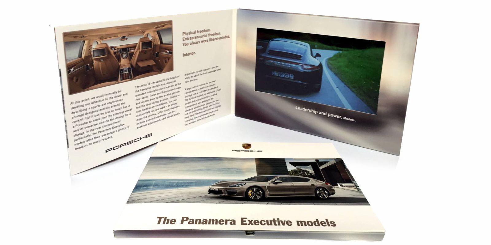 "6"" LCD video brochure"